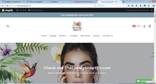 TheLovelyShop123.com - Time for Christmas Shopping Online