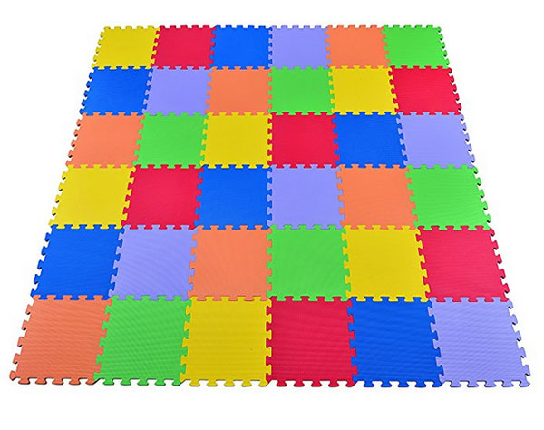 Colourful foam mat for children